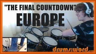 ★ The Final Countdown (Europe) ★ Drum Lesson PREVIEW | How To Play Song (Ian Haugland)