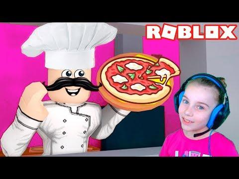 видео: ПОБЕГ ОТ ШЕФ ПОВАРА в Роблокс приключение мульт героя в пиццерии roblox