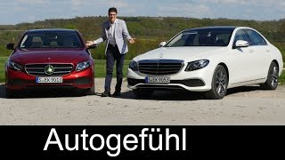 Mercedes E-Class W213 E-Klasse FULL REVIEW test driven all-new neu 2017/2018