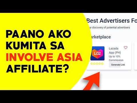 Paano kumita sa affiliate Marketing ng Involve Asia | Involve Asia affiliate lazada | Illustrados