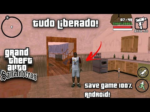 save zerado gta san andreas