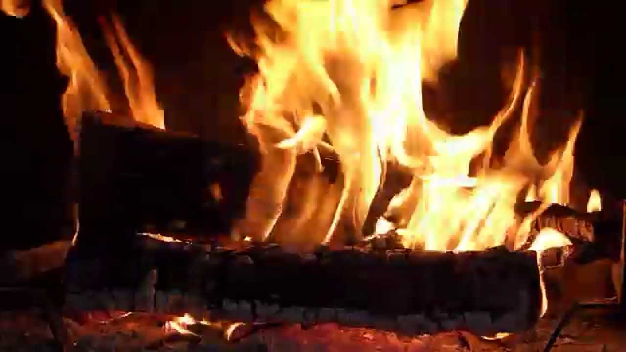 Feu De Cheminee Hd Plein Ecran Fireplace Chimney Kamin Lareira Bois Flamme Chimenea Youtube