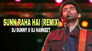 Aashiqui 2 - Sunn Raha Hai (Remix) Dj Sunny and Dj Harneet (Visual Edit - Krishna Yadav)