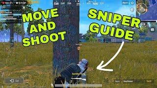 BASICS OF - SNIPER SHOTS + MOVE N SHOOT | PUBG MOBILE