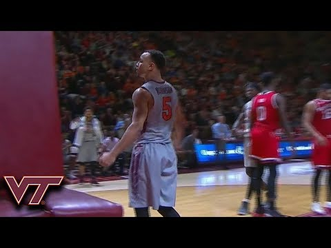 Virginia Tech's Justin Robinson Scores Career-High 32 Points vs. NC State
