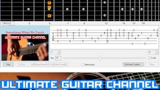 [Guitar Solo Tab] Sometimes When We Touch (Dan Hill)