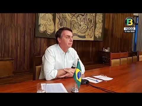 Presidente Bolsonaro: Depoimento em live com líderes cristãos!