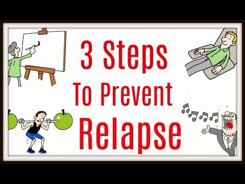 3 Steps To Prevent Relapse – Drug & Alcohol Addiction Recovery – Staying Sober