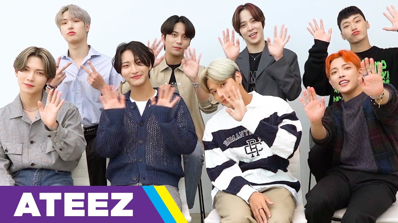 ATEEZ Answers 30 Questions In 3 Minutes