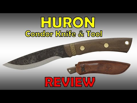 Review Of The HURON By Condor Knife And Tool
