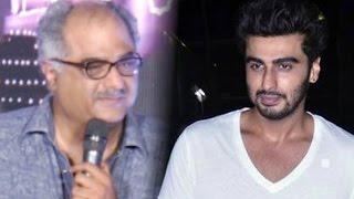 Boney Kapoor Turns Emotional While Praising Son Arjun Kapoor