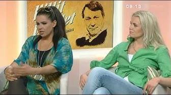 Huomenta Suomen haastatelussa Sani (Aikakone) ja Susanna Laine (2012)