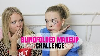 ♡ blindfolded challenge || med Alice