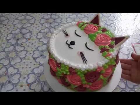 How To Decorate A Kids Birthday Cake / Easy Kids Birthday Cake By Mel's EasyCake