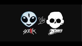 Skrillex vs Zomboy Mega Mix Songs 2015