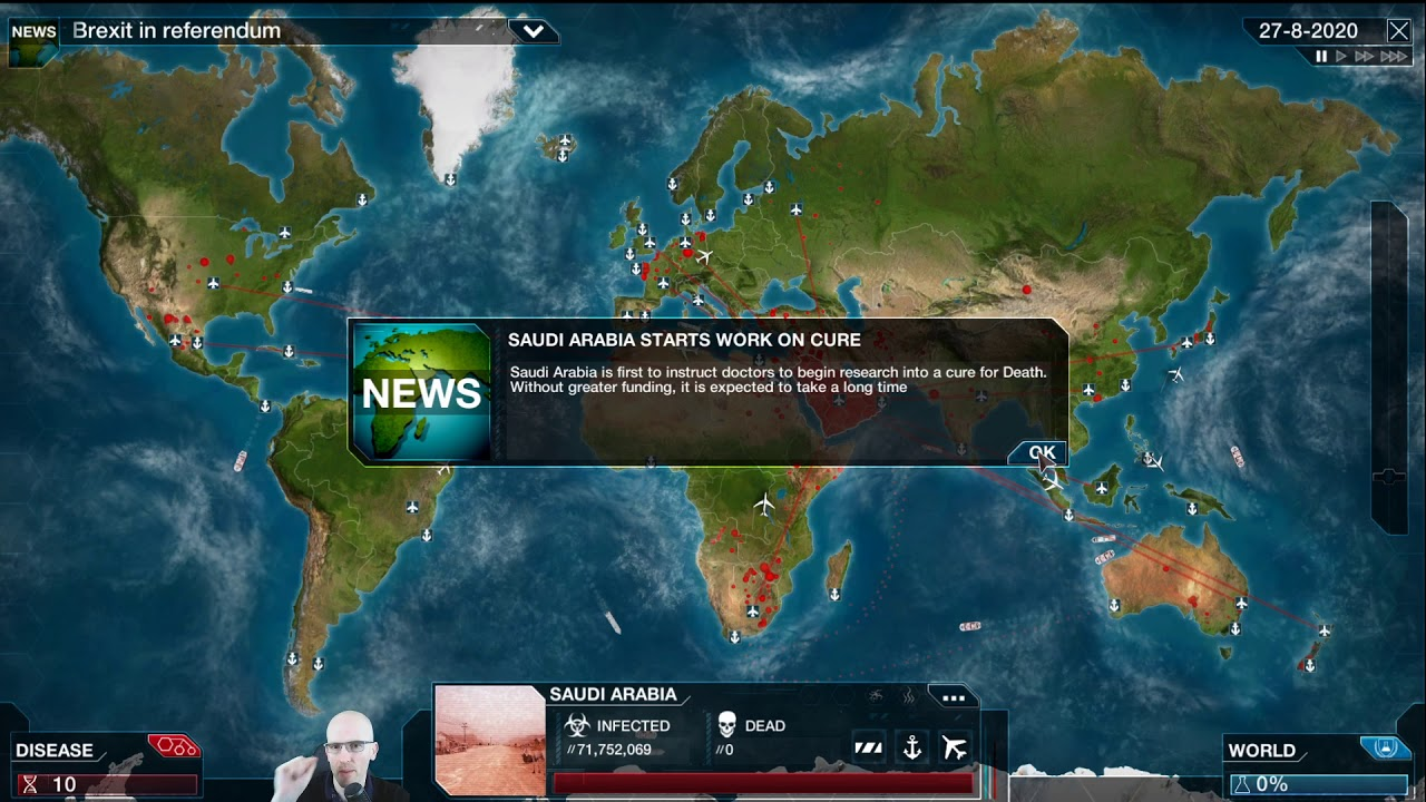 Plague Inc Evolved (PC) - Episode 1C: Turning to the Dark ...