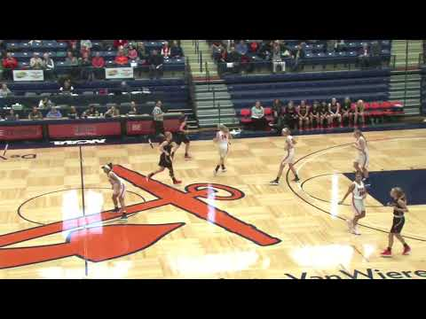 2018 Hope College vs. Kalamazoo - Celina King 17 points - 9 points in 90 seconds