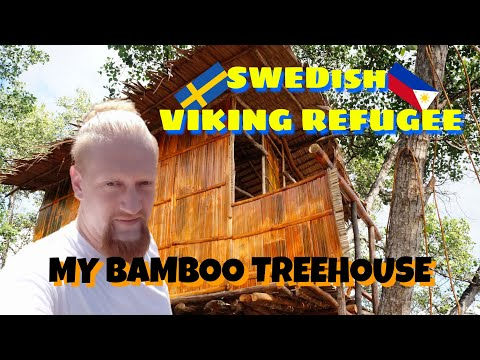 Build A Bamboo Tree House In The Philippines Timelapse