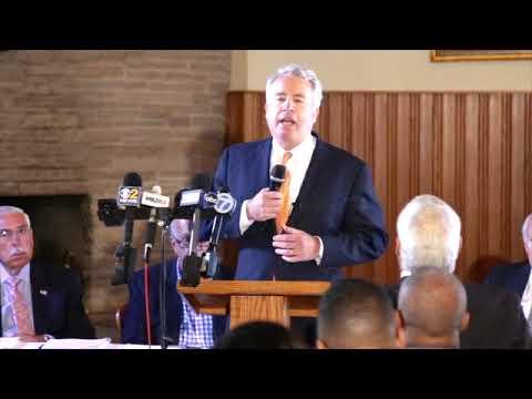 Chris Speaks at Cook County Slating