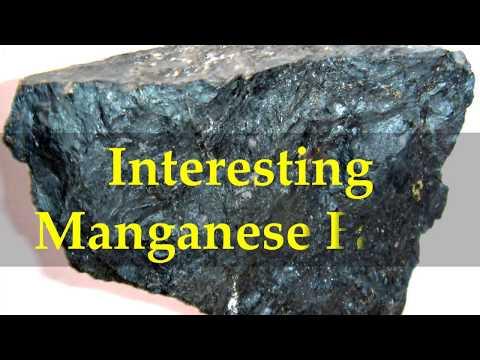 Interesting Manganese Facts