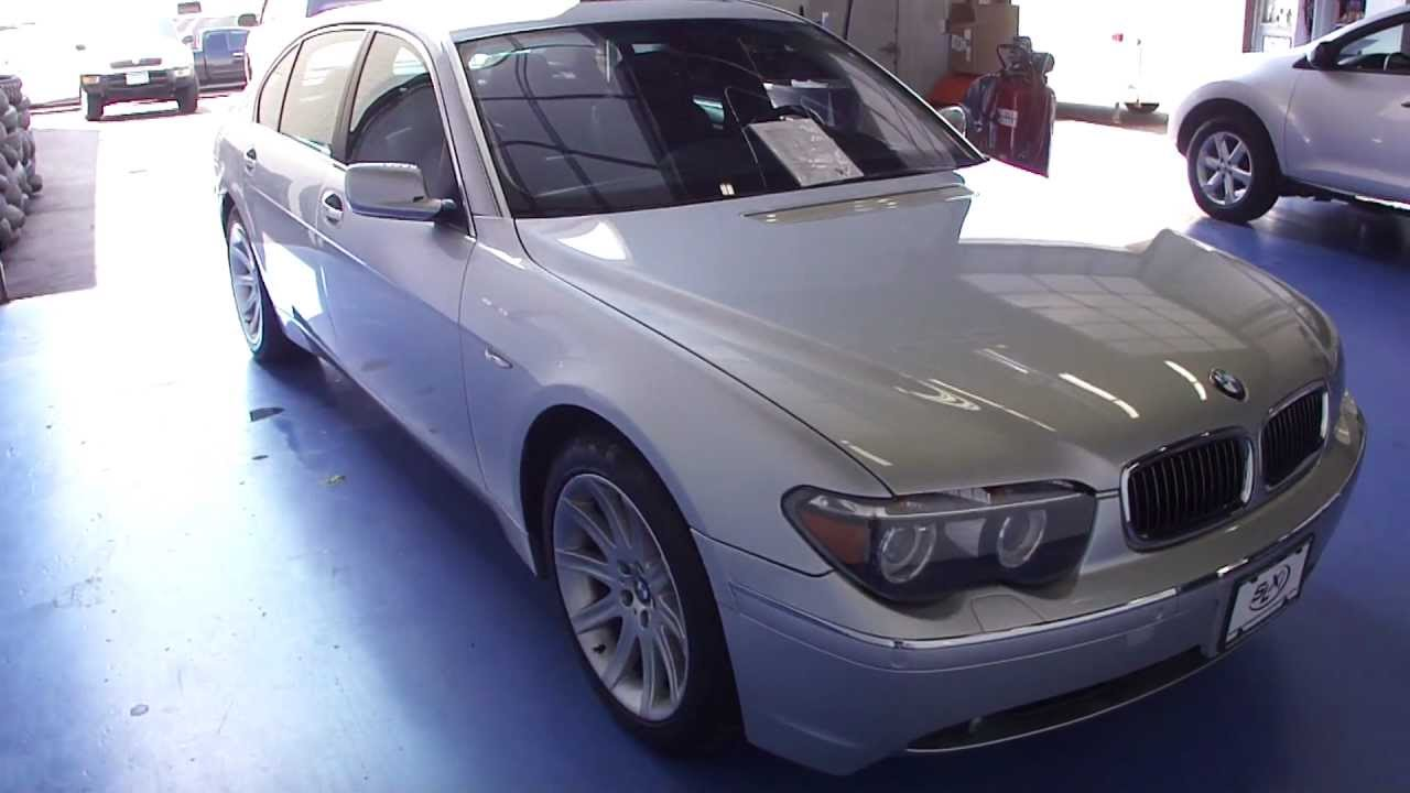Worksheet. 2005 BMW 745li for sale at SLXI SN1191  YouTube