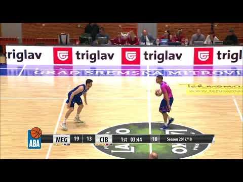 ABA Liga 2017/18, Round 1 match: Mega Bemax - Cibona (1.10.2017)