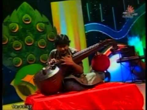 Chinna kannan azhaikkiran Veena instrumental, Shakthi Junior Super Star S3
