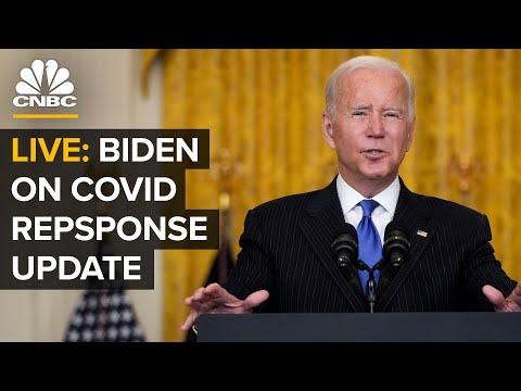 LIVE: President Biden provides updates on Covid-19 response and vaccination program — 10/14/21