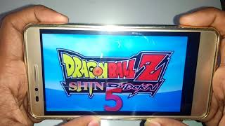 Dragon Ball Z Shin Budokai 5 Mod || Download For Android PSP || In Hindi
