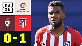Thomas Lemar hält Titelhoffnung am Leben: SD Eibar - Atletico Madrid 0:1 | La Liga | DAZN Highlights