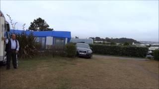 Wind auf Camping Des Abers Landeda Dep  Finistere