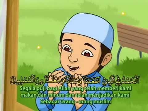 Doa Sesudah Makan Kumpulan Doa Anak Animasi Kartun Youtube