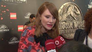 Bryce Dallas Howard deslumbra en la premiere de 'Jurassic World'