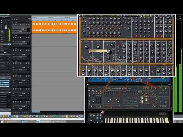 Arturia synths as an EFX in DAW