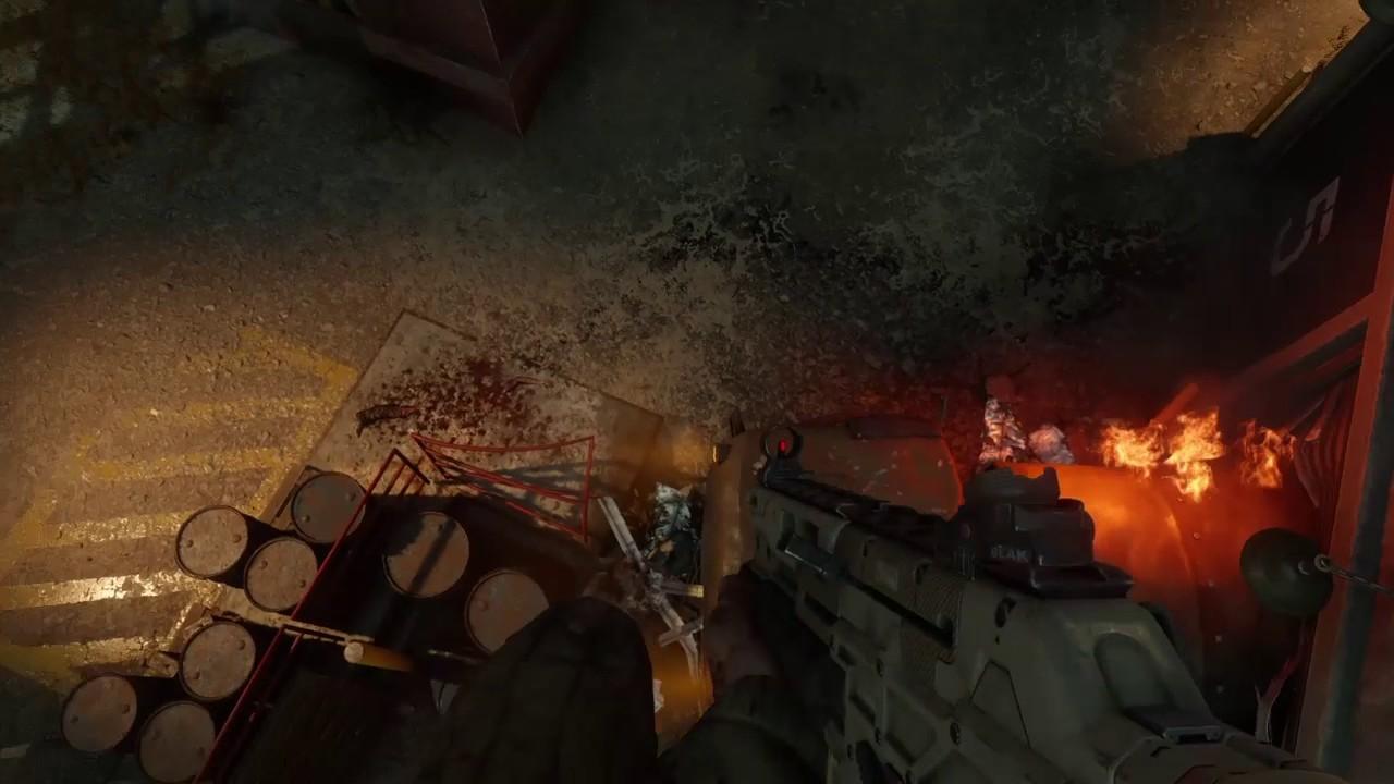 Carte Ascension Black Ops.Exclu Black Ops 3 Zombies Knife Lunge On Ascension The Highest