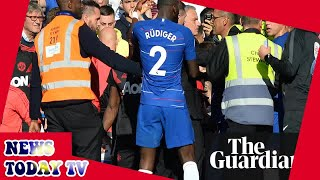 Chelsea and Manchester United likely to be warned by FA after chaotic scenes