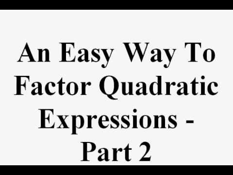ways to solve unstable factors and Solve by factoring lessons several previous lessons explain the techniques used to factor expressions this lesson focuses on an imporatant application of those techniques - solving equations.