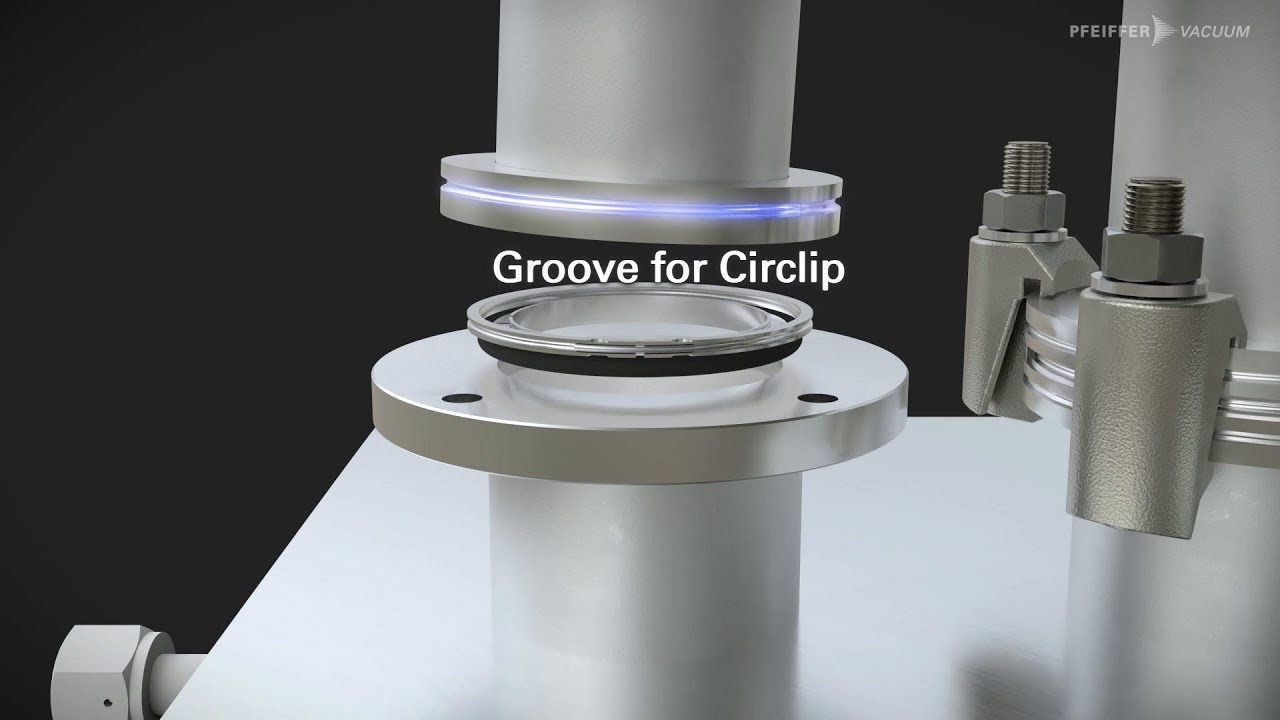 ISO-K and ISO-F flange systems from Pfeiffer Vacuum