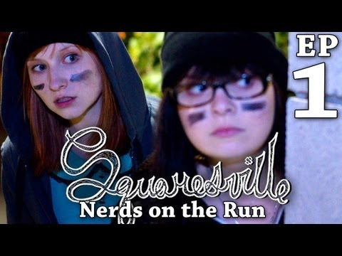 Squaresville  Ep. 1 Nerds On The Run w Mary Kate Wiles, Kylie Sparks, & David Ryan Speer