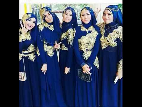 Model Baju Pesta Modern Dan Elegan Baju Pesta Muslim Seragaman