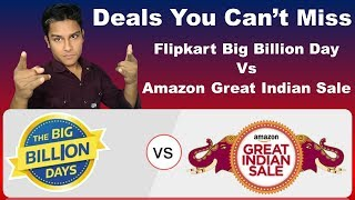 Flipkart Big Billion Day and Amazon Great Indian Festival Sale 2018 - 🔥 Best Smartphone Offers