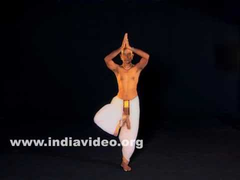 Vrikshasana (The tree pose) - Male