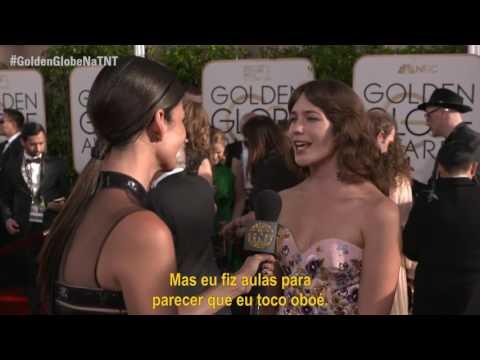 GoldenGlobeNaTNT  Entrevista com Lola Kirke