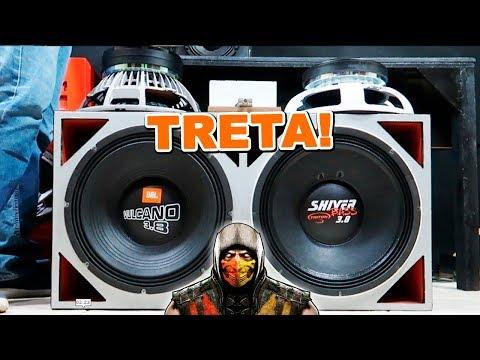 TRETA! JBL Vulcano 3.8 Vs  Triton Shiver Bass 3.8 15 Pol