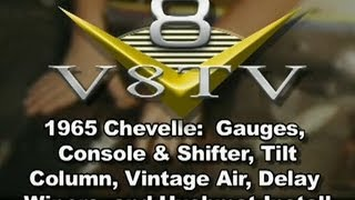 1965 Chevelle Creature Comforts Install Video V8TV