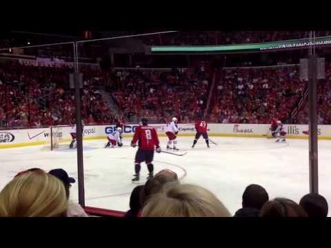 Caps hockey at Verizon center - Ovechkin goal