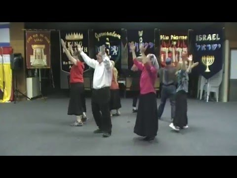 Messianic Dance - Nobody Like You ~ InnerCourtDancers & Israeli Celebration Dancers