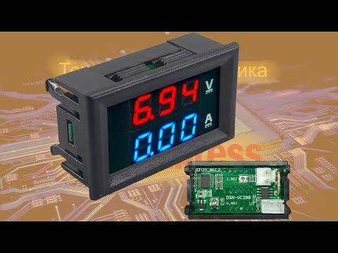 Вольтметр амперметр с алиэкспресс - подключение, калибровка и доработка