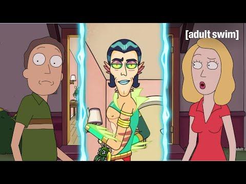 Mr Nimbus Wants A Three Way Rick And Morty Adult Swim Youtube