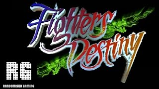 Fighters Destiny - Nintendo 64 - Intro & Vs Com (Arcade) gameplay [HD 720p 60fps]